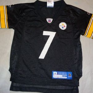 3T Toddler Steelers Roethlisberger Reebok Jersey